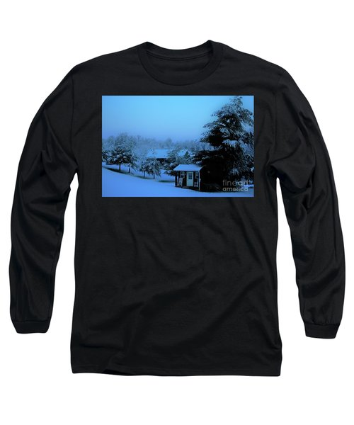 Porch Setting, Not Today Long Sleeve T-Shirt