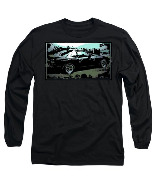 Porsche 944 Long Sleeve T-Shirt by George Pedro