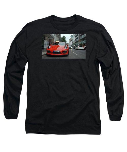 Porsche Gt3 Rs Long Sleeve T-Shirt