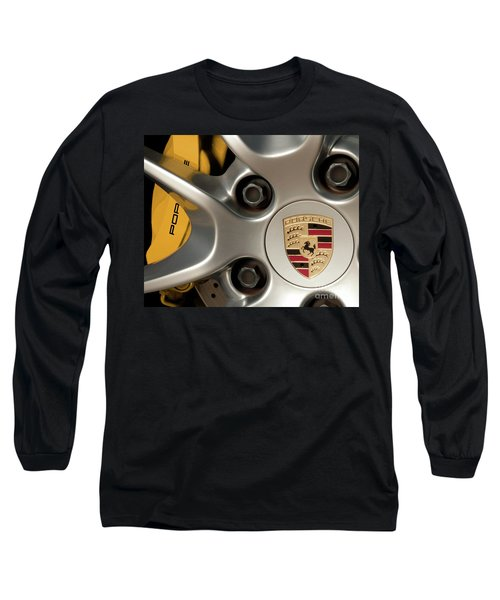 Porsche Wheel Detail #2 Long Sleeve T-Shirt