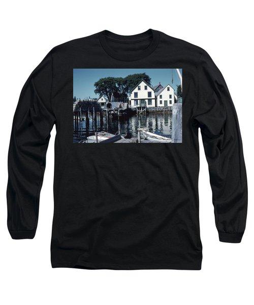 Port Clyde Maine Long Sleeve T-Shirt