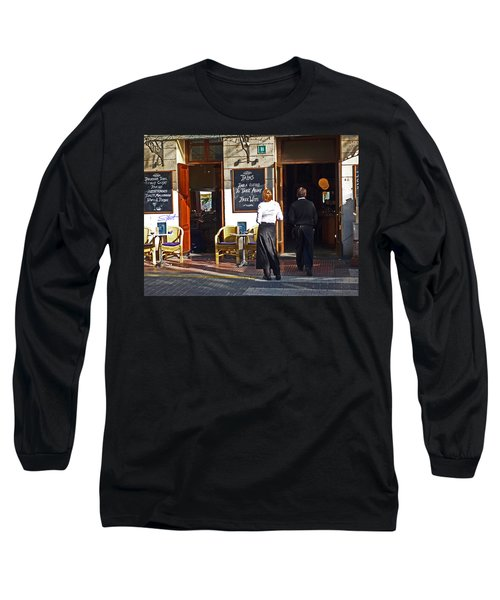 Port De Soller Long Sleeve T-Shirt by Charles Stuart