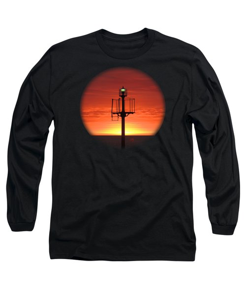 Port Hughes Lookout Long Sleeve T-Shirt by Linda Hollis