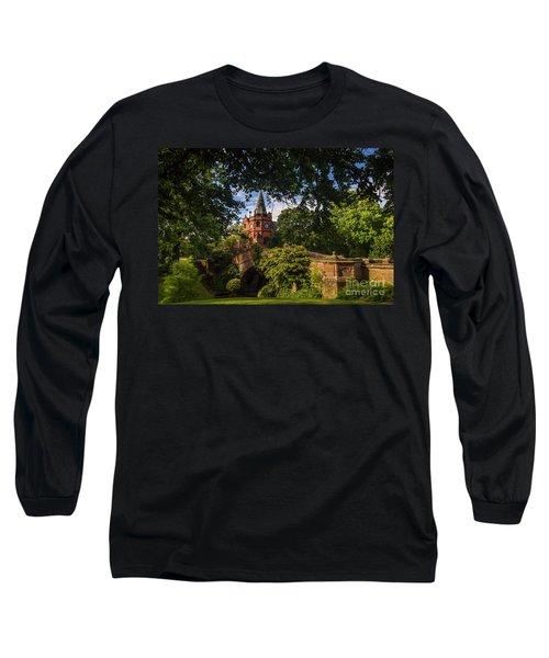 Port Sunlight Village In Summer Long Sleeve T-Shirt