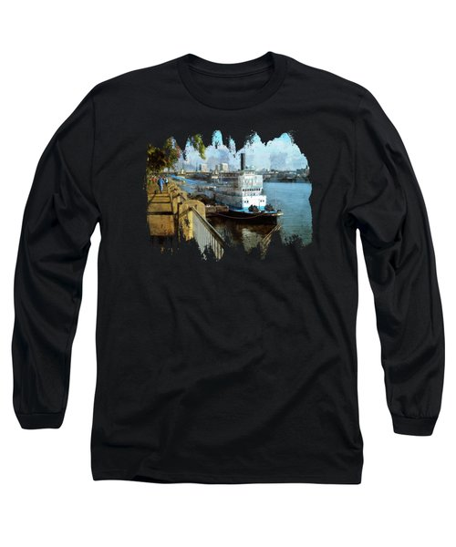 Portland Sunday Walk Long Sleeve T-Shirt