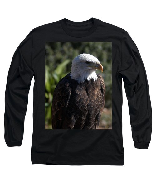Portrait Bald Eagle  Long Sleeve T-Shirt