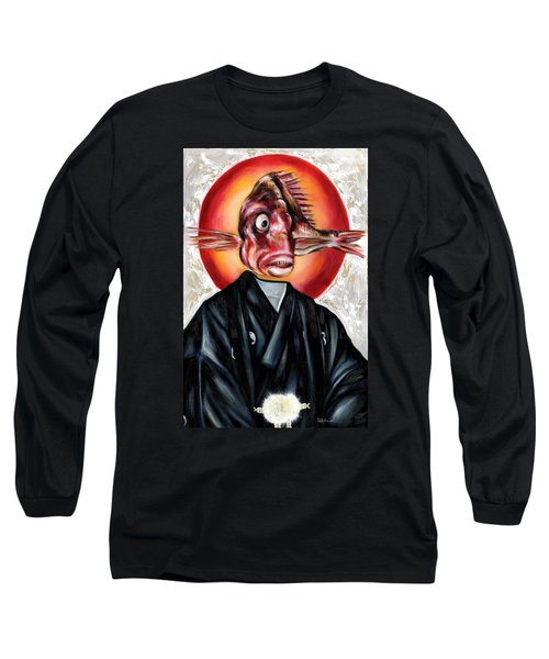 Portrait Long Sleeve T-Shirt