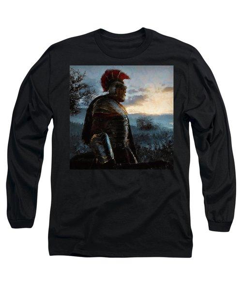 Portrait Of A Roman Legionary - 34 Long Sleeve T-Shirt