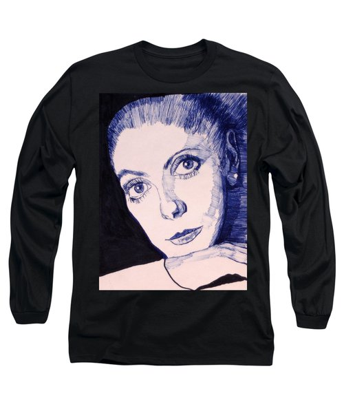 Portrait Of Catherine Long Sleeve T-Shirt