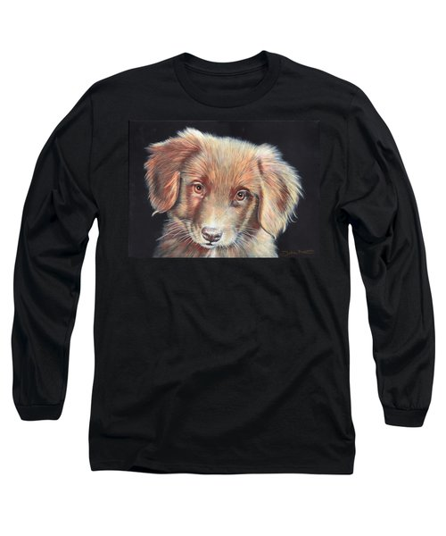Portrait Of Toby Long Sleeve T-Shirt