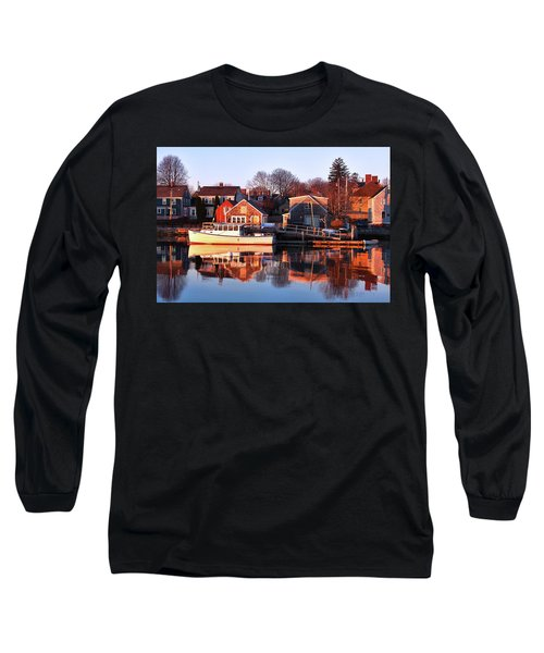 Portsmouth South End Sunrise Long Sleeve T-Shirt