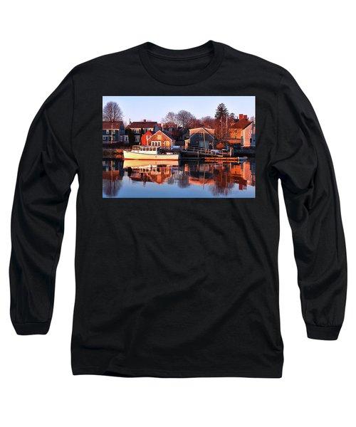 Portsmouth South End Sunrise Long Sleeve T-Shirt