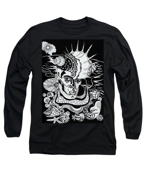 Poseidon Long Sleeve T-Shirt by Yelena Tylkina
