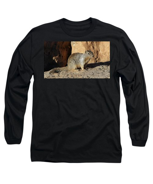 Posing Squirrel Long Sleeve T-Shirt