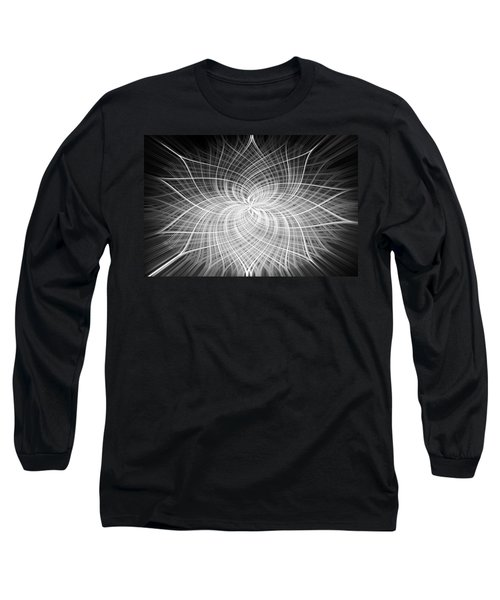 Long Sleeve T-Shirt featuring the digital art Positivity by Carolyn Marshall