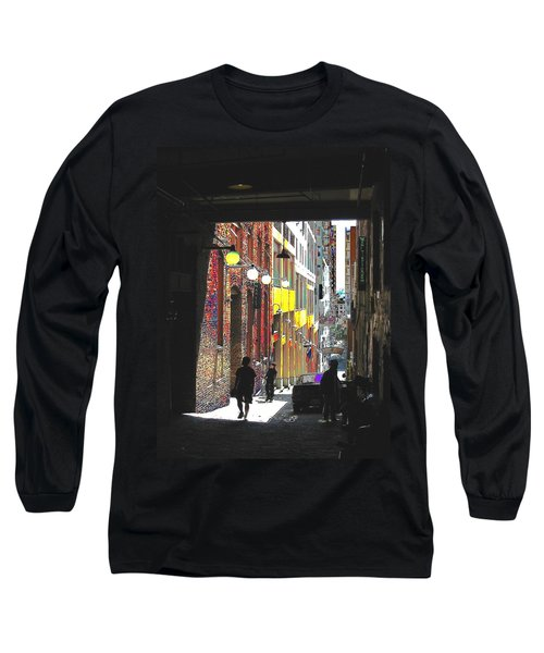 Post Alley Long Sleeve T-Shirt by Tim Allen