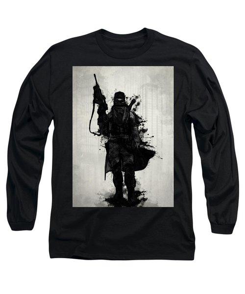 Post Apocalyptic Warrior Long Sleeve T-Shirt