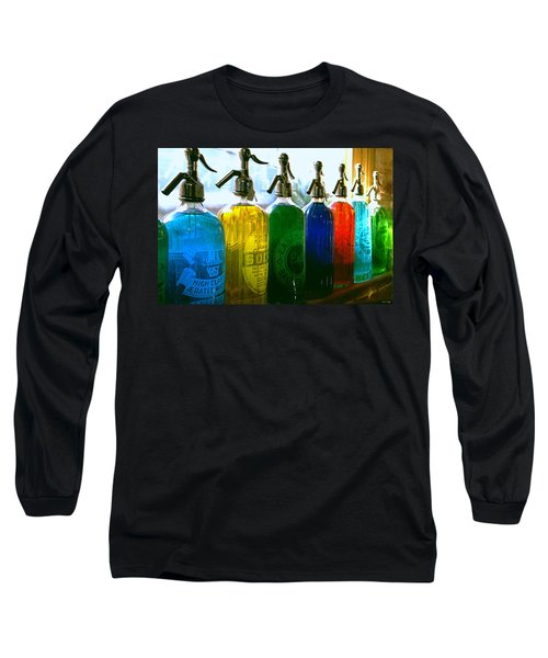 Long Sleeve T-Shirt featuring the photograph Pour Me A Rainbow by Holly Kempe