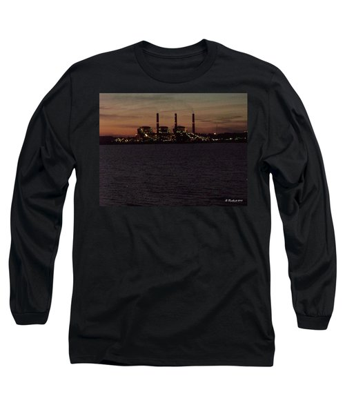 Long Sleeve T-Shirt featuring the photograph Power In The Dark by Betty Northcutt