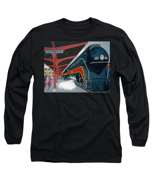 Powhattan Arrow At Portsmouth Long Sleeve T-Shirt by Frank Hunter