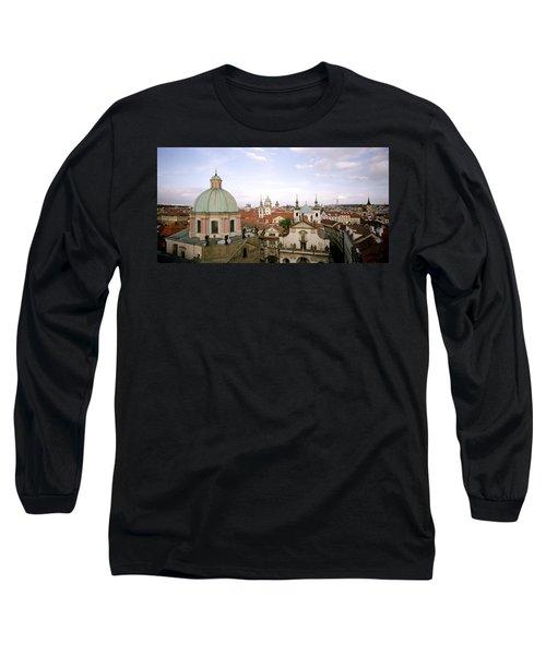 Prague Twilight Long Sleeve T-Shirt by Shaun Higson