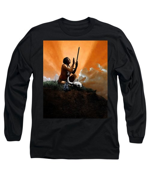Prayer To The Great Mystery Long Sleeve T-Shirt