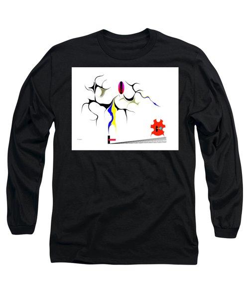 Precarious Study No.7 Long Sleeve T-Shirt