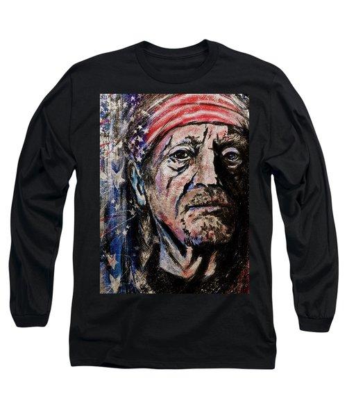 Precious Metals, Willie Long Sleeve T-Shirt