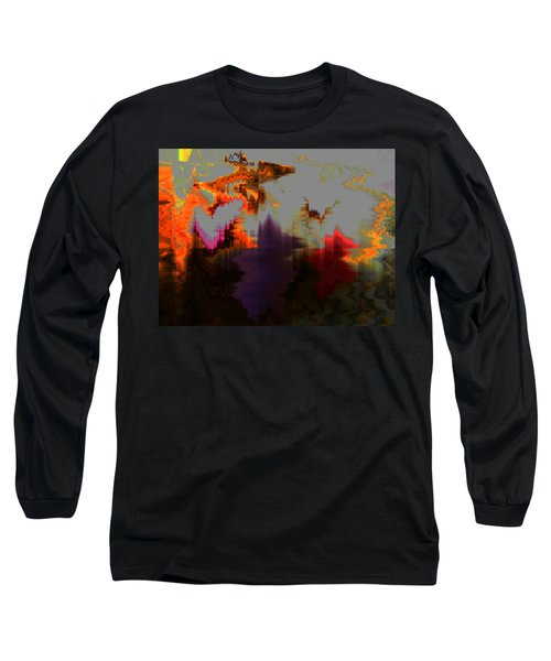 Prehistoric Long Sleeve T-Shirt by Lenore Senior