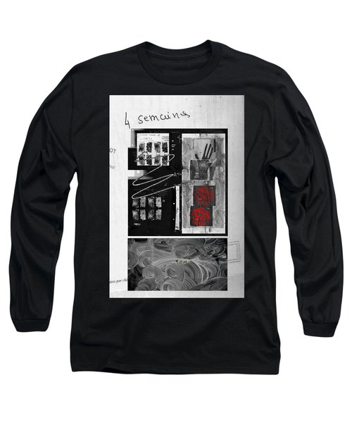 Prescription Long Sleeve T-Shirt by Danica Radman