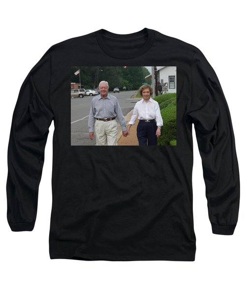 President And Mrs. Jimmy Carter Long Sleeve T-Shirt
