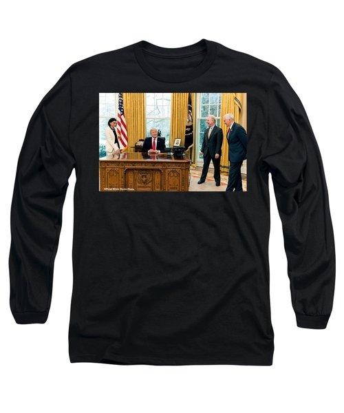 President Donald Trump Long Sleeve T-Shirt
