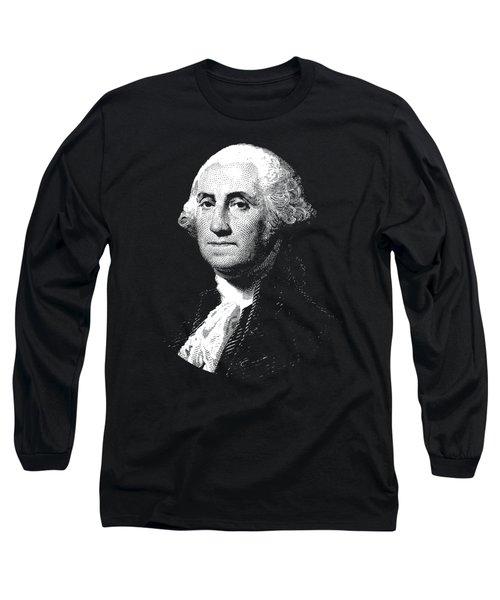 President George Washington Graphic  Long Sleeve T-Shirt