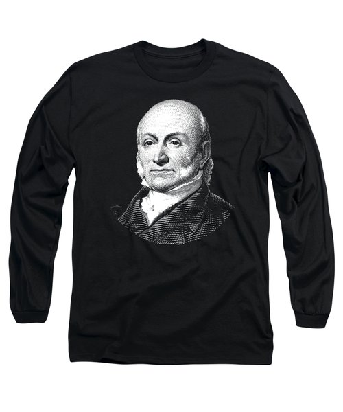 President John Quincy Adams Graphic  Long Sleeve T-Shirt