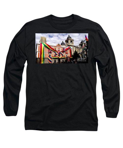 Presidential Palace La Paz, Bolivia Long Sleeve T-Shirt