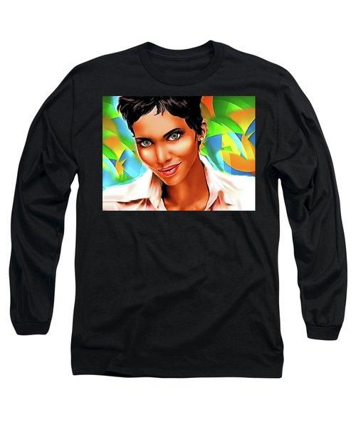 Pretty Lady Long Sleeve T-Shirt