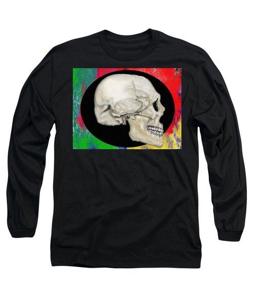 Primary Skull Long Sleeve T-Shirt