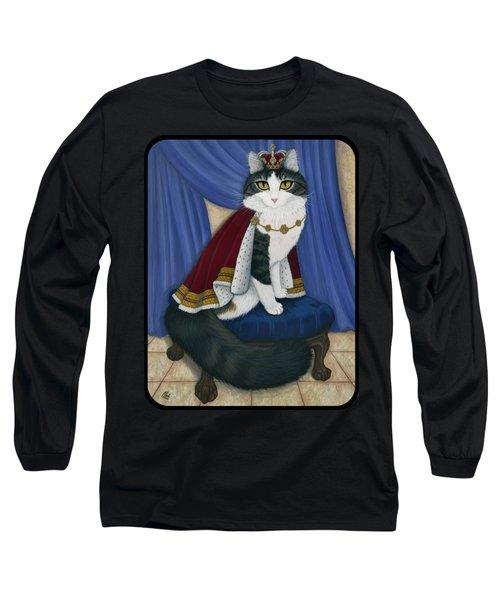 Prince Anakin The Two Legged Cat - Regal Royal Cat Long Sleeve T-Shirt