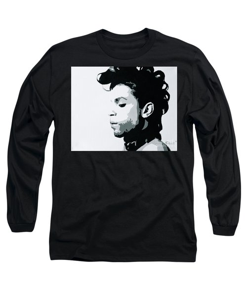 Long Sleeve T-Shirt featuring the painting Prince by Ashley Price