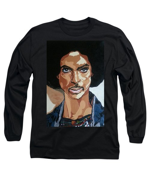 Prince Rogers Nelson Long Sleeve T-Shirt