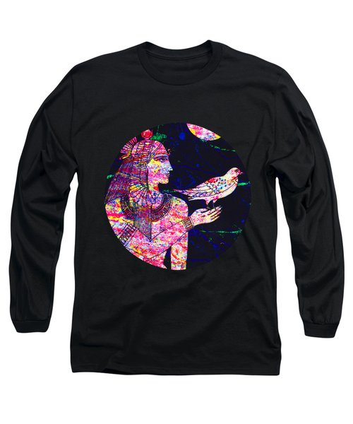 Princess In Moongarden Long Sleeve T-Shirt
