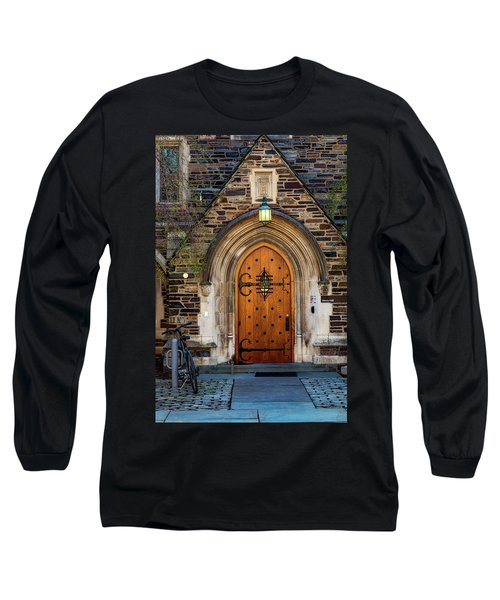 Long Sleeve T-Shirt featuring the photograph Princeton University Henry Hall by Susan Candelario