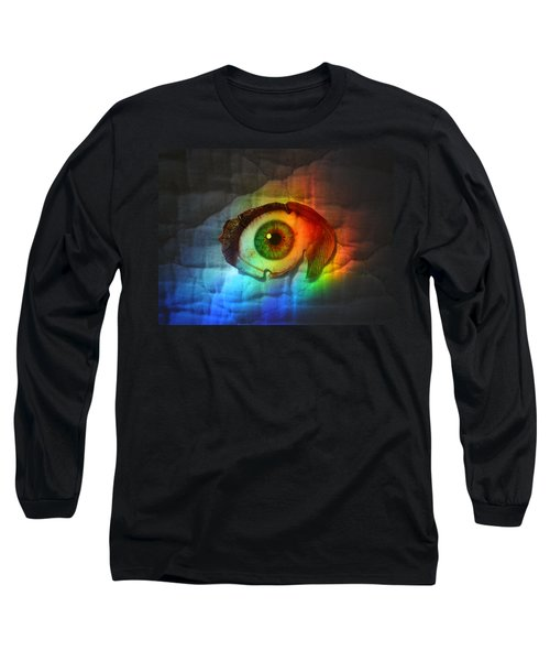 Prismaeye Long Sleeve T-Shirt by Douglas Fromm