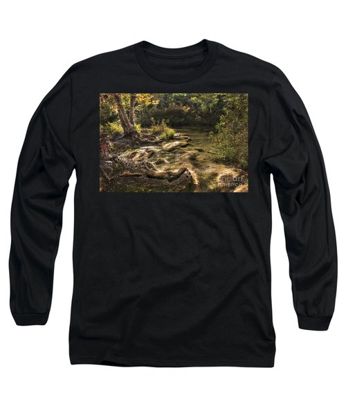 Long Sleeve T-Shirt featuring the photograph Private Retreat by Tamyra Ayles