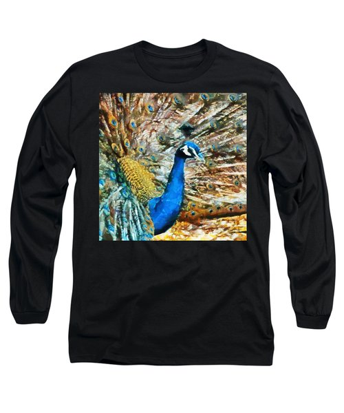 Proud As A Peacock Long Sleeve T-Shirt