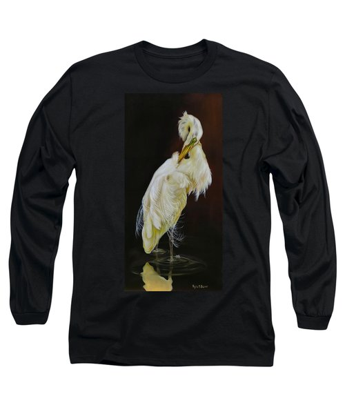 Long Sleeve T-Shirt featuring the painting Prudence by Phyllis Beiser