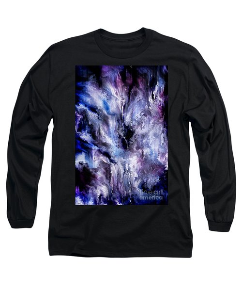 Psalm 103-11. So Great Is His Love Long Sleeve T-Shirt by Mark Lawrence