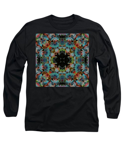 Psychedelic Daisies Long Sleeve T-Shirt by Smilin Eyes  Treasures