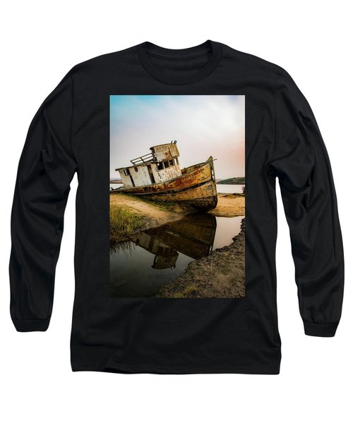 Pt. Reyes Shipwreck 1 Long Sleeve T-Shirt