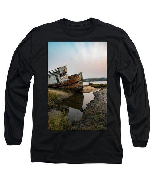 Pt. Reyes Shipwreck 4 Long Sleeve T-Shirt